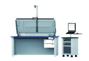 Estación de comprobación con sistema de cámara y PC parametrizador de drivers BJB