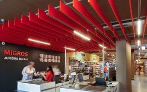 2. Sistema Linear Flat System en Supermercados Migros Suiza