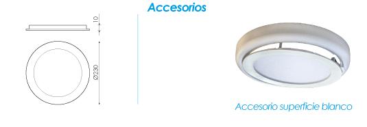 Accesorios de la nueva Downlight Breno de Prilux