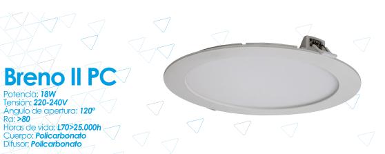 Nueva luminario Downlight Breno de Prilux