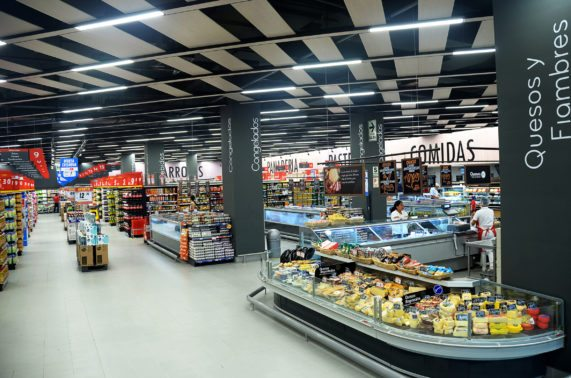 3. Sistema Linear Flat System en Supermercados Peruanos Perú