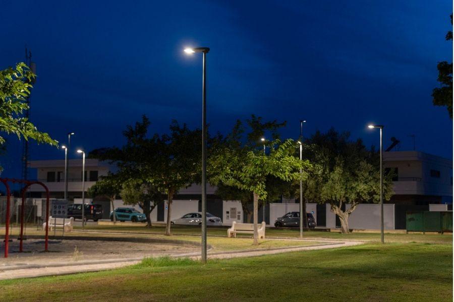 Luminarias LED de Schreder